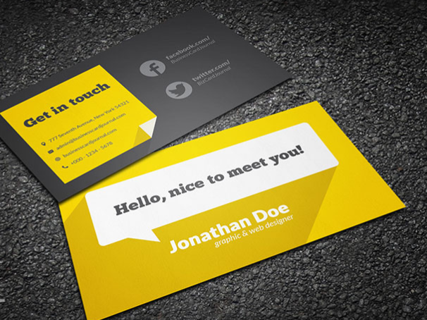 top 20 free business card templates for 2018 templatebyte