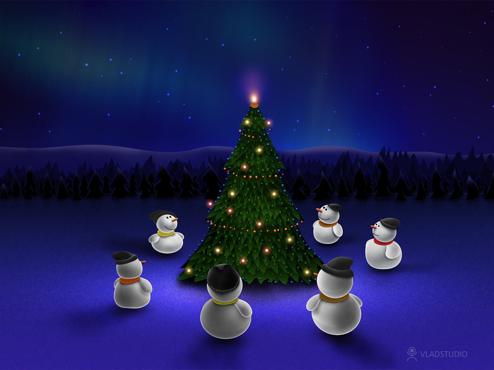 19 best christmas wallpapers for your desktop screens - templatebyte